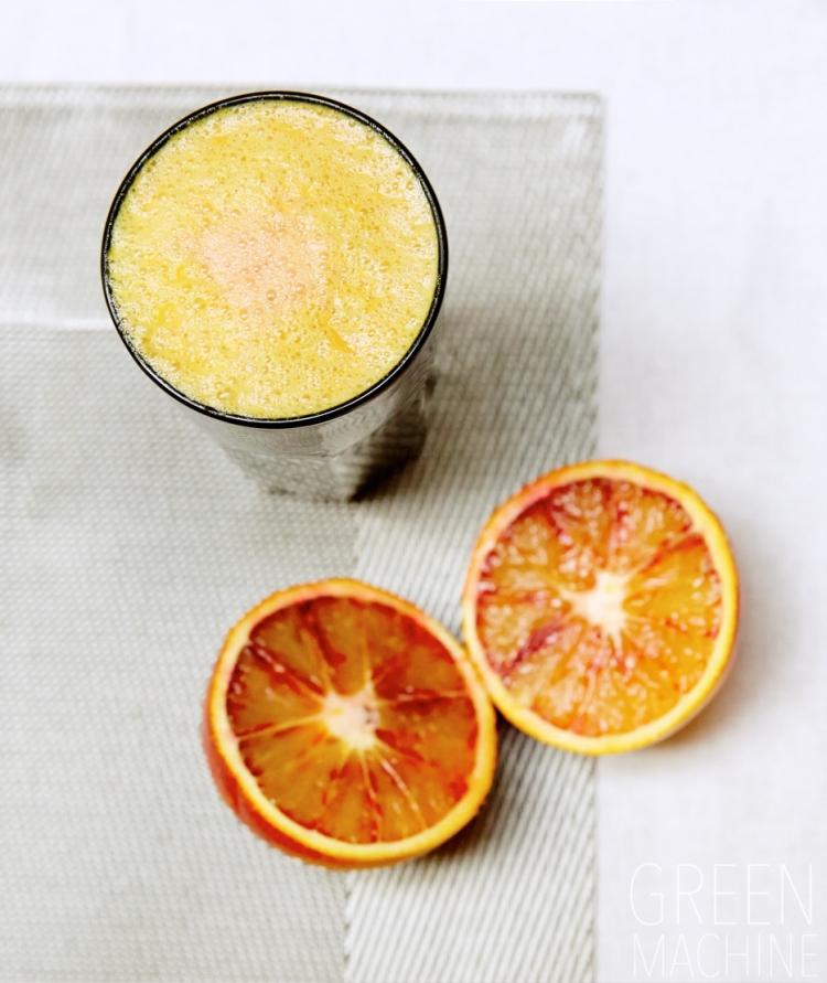 Blood Orange Pineapple Slushy