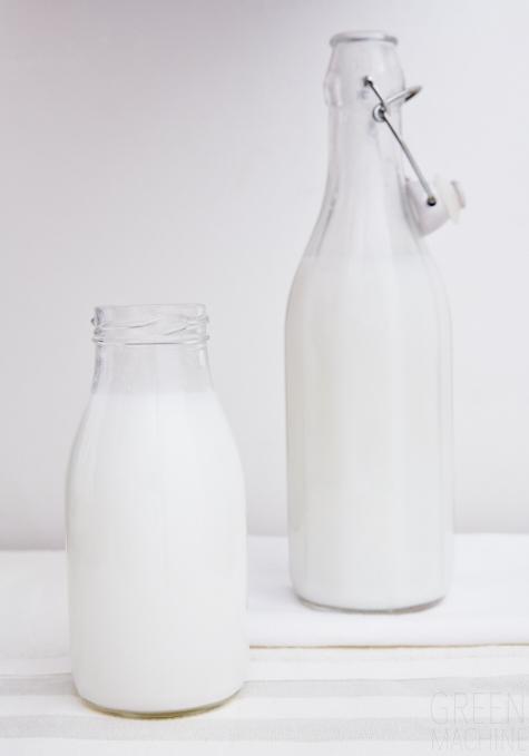 coconut, milk, green machine