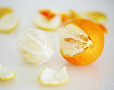 Oranges and Lemons, peeled, pith