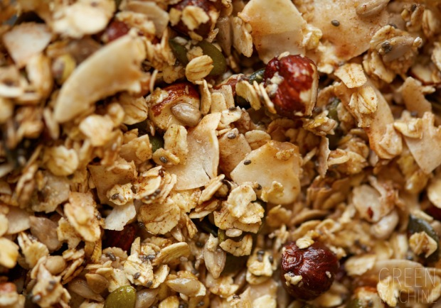 granola, breakfast, quick