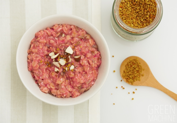 Rose Porridge Oats Recipe