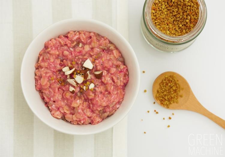 Rose Porridge Oats Recipe