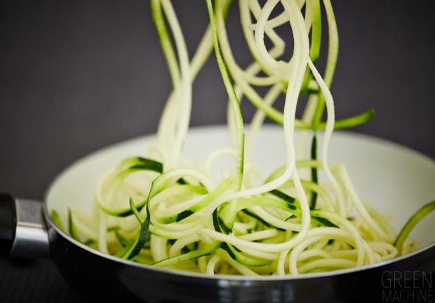 zucchini noodles zoodles stir fry