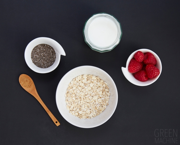 Quick Berry Oats Ingredients