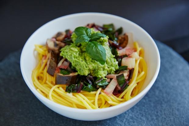 Green 'n' Creamy Avocado Pasta recipe #GreenMachineWD. Thegreen-machine.co.uk. Photo:. Hannah Elizabeth