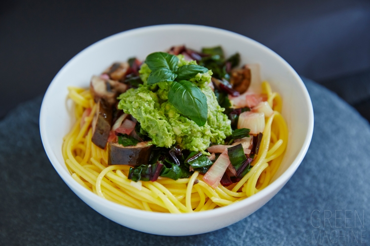 Green 'n' Creamy Avocado Pasta recipe #GreenMachineWD. Thegreen-machine.co.uk. Photo:. Hannah Elizabeth